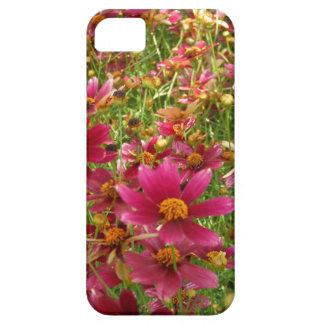 Flores brillantes de la margarita de las rosas iPhone 5 fundas