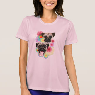 Flores brillantes del Barro amasado-Muy malhumorad Camiseta