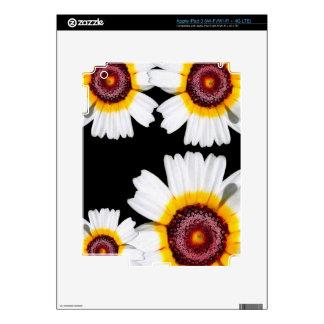 Flores brillantes hermosas iPad 3 skins