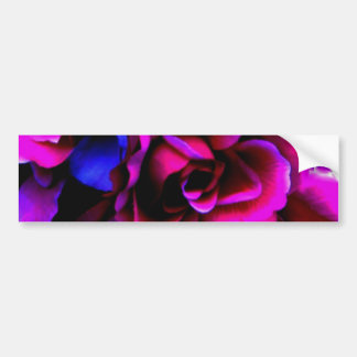 Flores Etiqueta De Parachoque