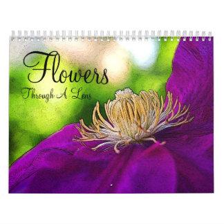 Flores Calendarios De Pared