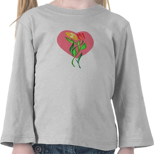 flores camiseta