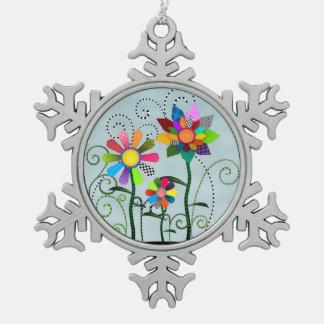 Flores caprichosas adornos