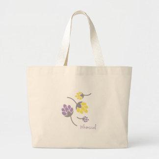 Flores caprichosas bolsa