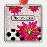 Flores caprichosas del farmacéutico ornamente de reyes