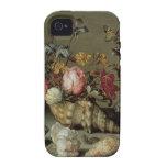 Flores, cáscaras e Insects Balthasar van der Ast Case-Mate iPhone 4 Funda