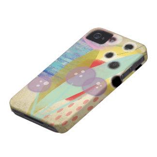 Flores - caso del iphone 4 - caso del iphone 4s funda para iPhone 4 de Case-Mate