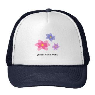 Flores casuales coloridas de la primavera gorro