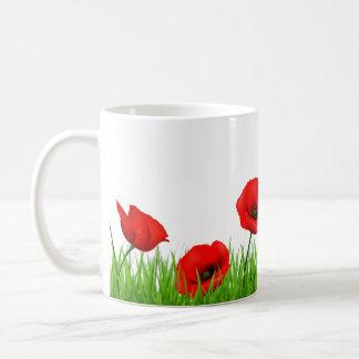 Flores Classic White Coffee Mug
