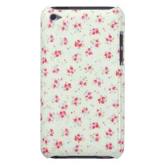 Flores color de rosa elegantes lamentables florale barely there iPod cobertura