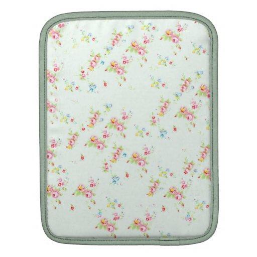 Flores color de rosa elegantes lamentables florale fundas para iPads