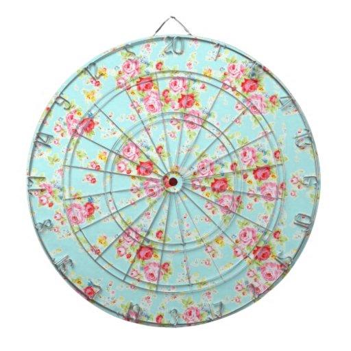 Flores color de rosa lamentables azules de los ros tabla dardos