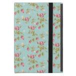 Flores color de rosa lamentables azules de los ros iPad mini carcasa