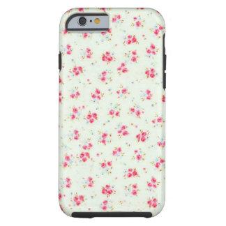Flores color de rosa lamentables florales funda de iPhone 6 tough