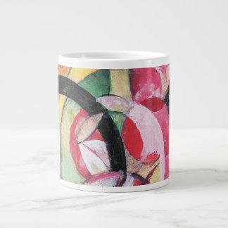 Flores coloreadas (formas abstractas) por Franz Tazas Jumbo