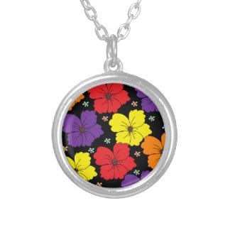 Flores coloridas del baile colgante redondo