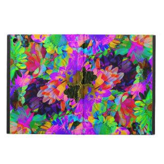 Flores coloridas del extracto del teñido anudado