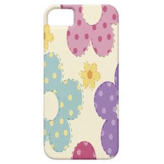 Flores coloridas iPhone 5 funda