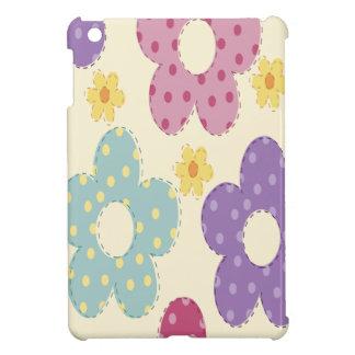 Flores coloridas iPad mini coberturas