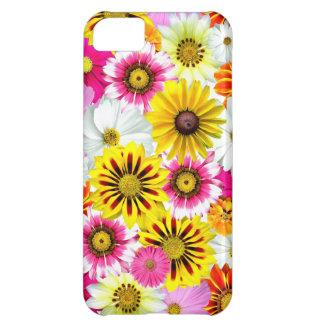 Flores coloridas funda para iPhone 5C