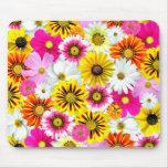 Flores coloridas tapete de ratón
