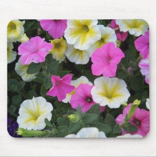 Flores coloridas tapetes de ratón