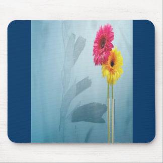 Flores combinadas 2 alfombrillas de raton