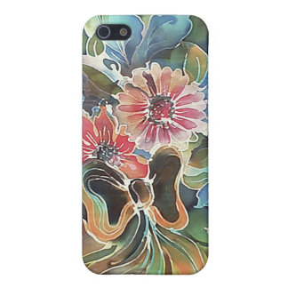 Flores con la cinta iPhone 5 carcasa