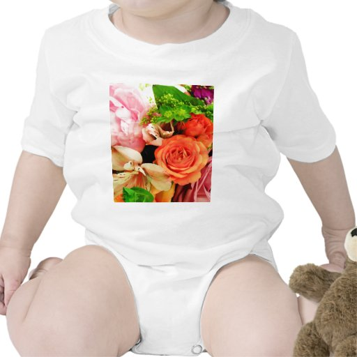 Flores dadas en love_ camiseta