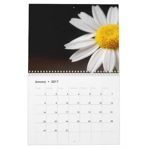 Flores de 2011 calendario