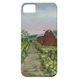 Flores de Amish Apple iPhone 5 Case-Mate Cárcasa