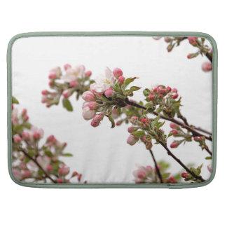 Flores de Apple en primavera Fundas Para Macbooks