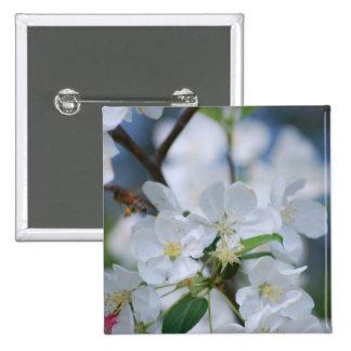 Flores de Apple Pin Cuadrada 5 Cm