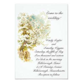 Flores de Apple que casan la invitación