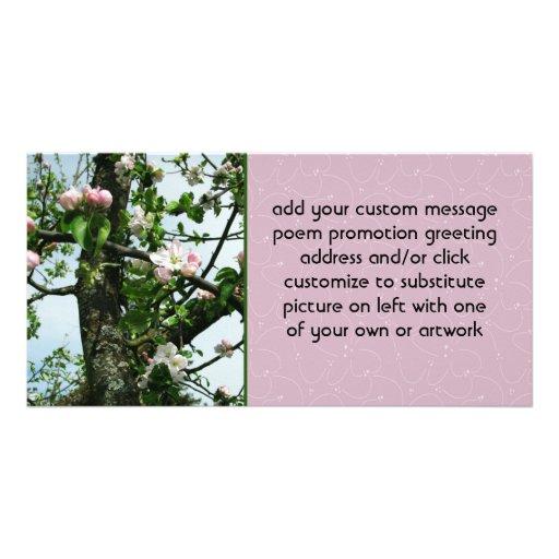 Flores de Apple Tarjeta Personal