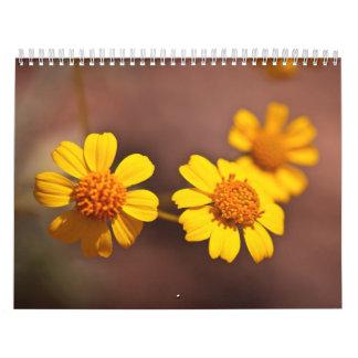 Flores de Arizona Calendario