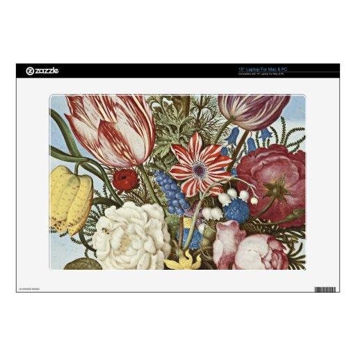 Flores de Bosschaert 38,1cm Portátil Calcomanías