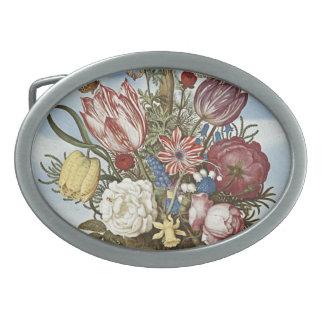 Flores de Bosschaert Hebilla Cinturón