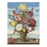 Flores de Bosschaert Postal