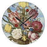 Flores de Bosschaert Reloj
