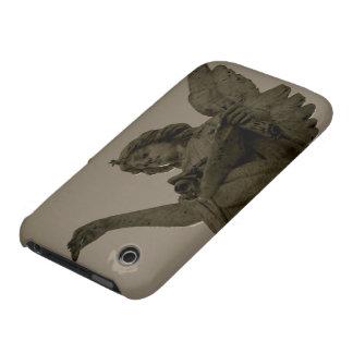 Flores de caída del ángel iPhone 3 Case-Mate protector