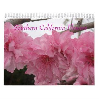 Flores de California meridional Calendarios De Pared