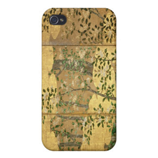 Flores de camelias iPhone 4/4S carcasa