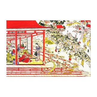 Flores de cerezo 1725 del parque de Ueno Impresiones En Lienzo Estiradas
