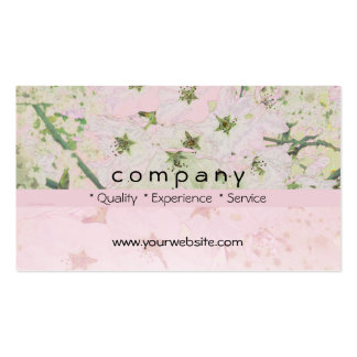 Flores de cerezo 1 tarjetas de visita