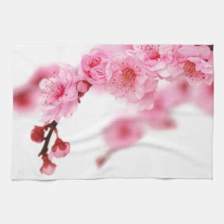 Flores de cerezo 3 toallas de mano