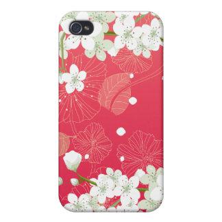Flores de cerezo 4 iPhone 4/4S carcasa