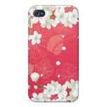 Flores de cerezo 4 iPhone 4/4S carcasas