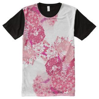 Flores de cerezo abstractas rosadas de Sakura