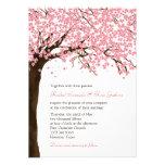 Flores de cerezo/boda de la acuarela de Sakura Anuncio Personalizado